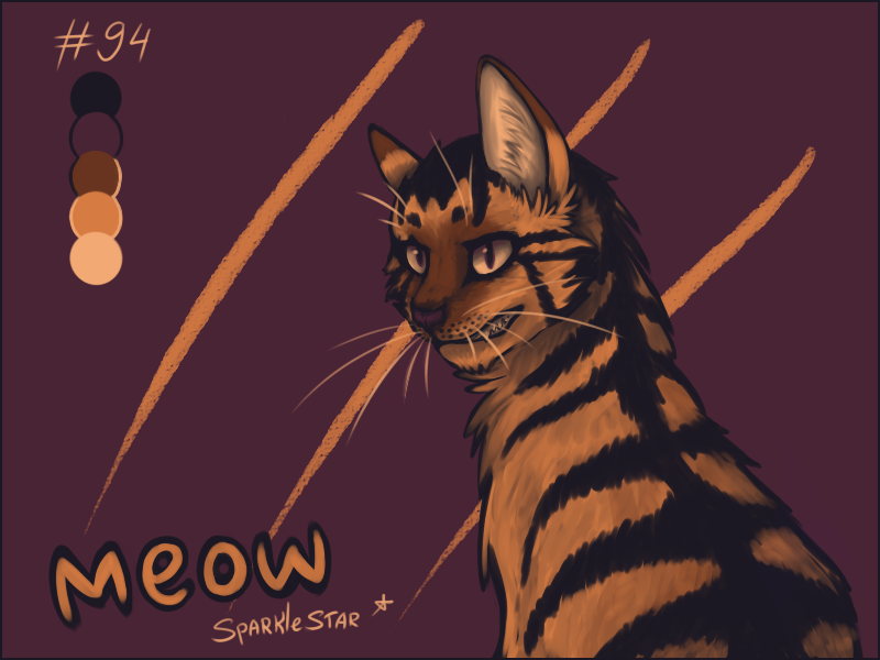 tiger? nope by SparkleStarCat