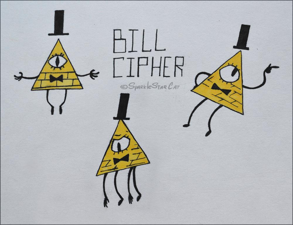 moar Bill by SparkleStarCat