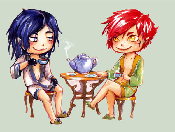 Tea. in between. by Porno-Pink