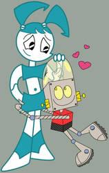 Robot Love by Juliefoo