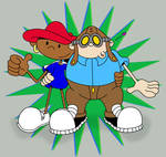 Numbuh 2 and 5