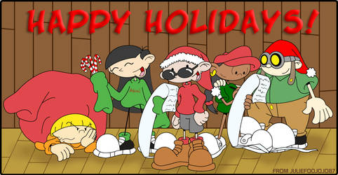 Kids Next Door Christmas by Juliefoo