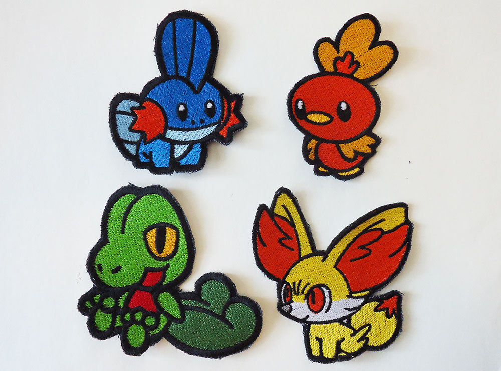 Embroidery Badges Artwork | Makaroka.com