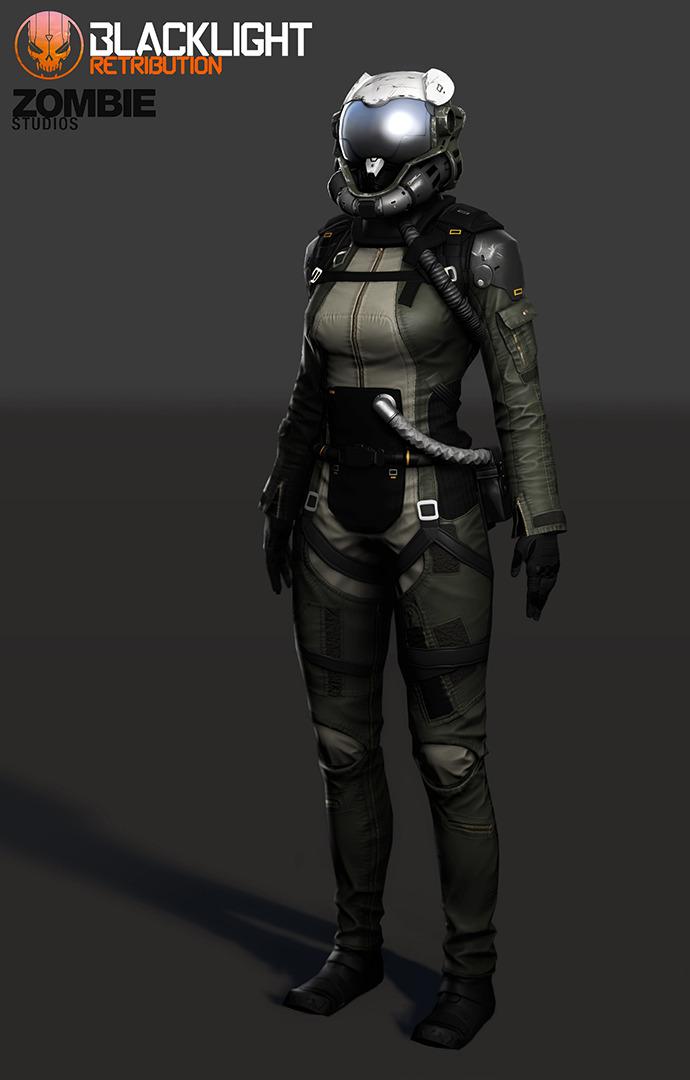 Blacklight Retribution: Artemis by LukeDodge