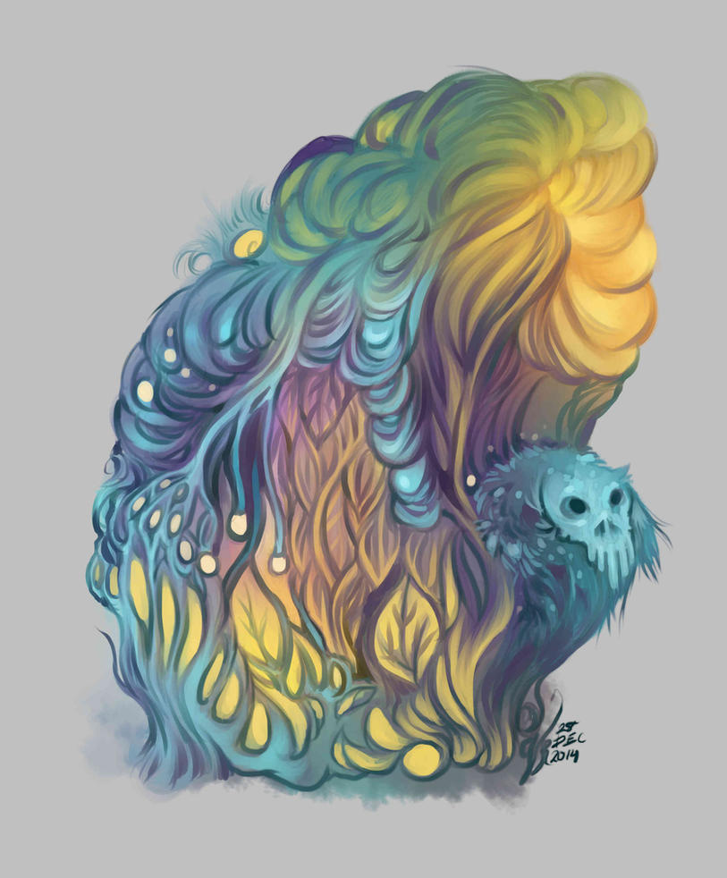 Color Study - Dec 2014 by velderia