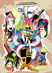the World made by girls by RyusukeHamamoto