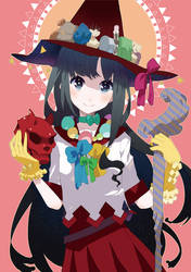 Black hair Witch