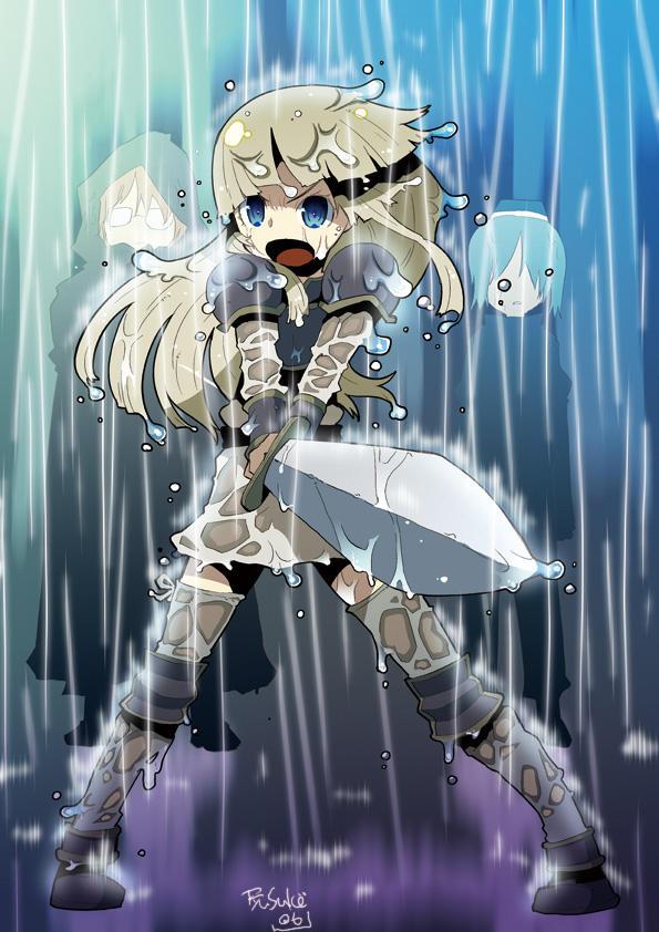Girl Warrior by RyusukeHamamoto