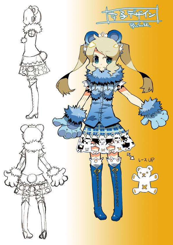 costume- girl by RyusukeHamamoto