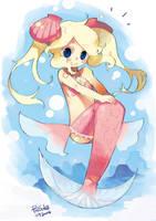 Mermaid Hamamoto-tan by RyusukeHamamoto