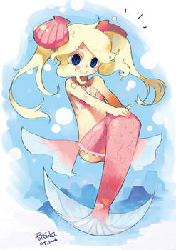 Mermaid Hamamoto-tan