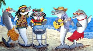 Dolphin Beach Party