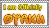 Stamp: I am Officialy OTAKU by Nayuki-Mochila