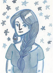 Blue Star by BarbaryDove