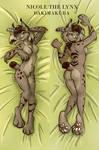 Nicole the Lynx Dakimakura [Available at MFF!]