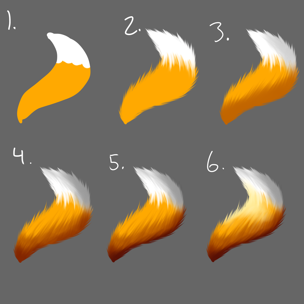 Tail Fur Tutorial By Fattybatty On Deviantart