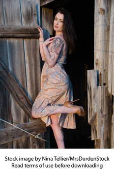 Female Portrait Stock Photo III