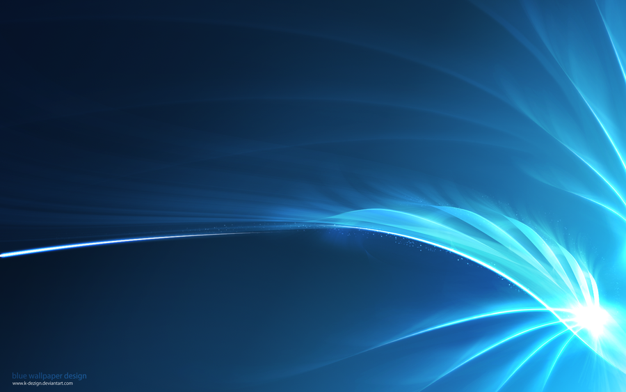 blue wallpaper design by k dezign