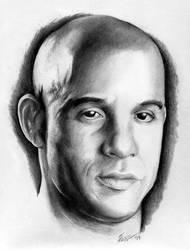 Vin Diesel by k-dezign