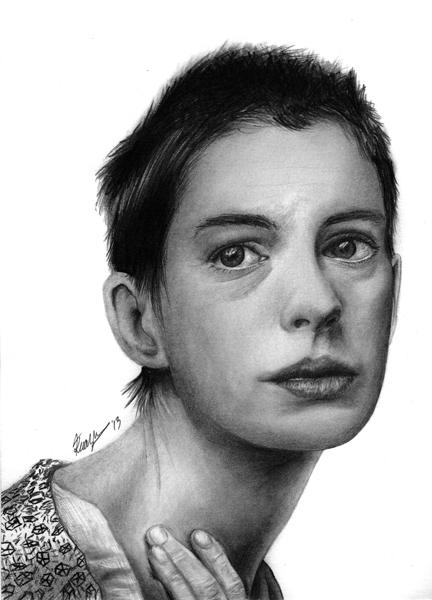 Anne Hathaway (as Fantine) by k-dezign