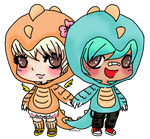 RAWR: ILY in Dinosaur [for Divichuu of Gaiaonline]
