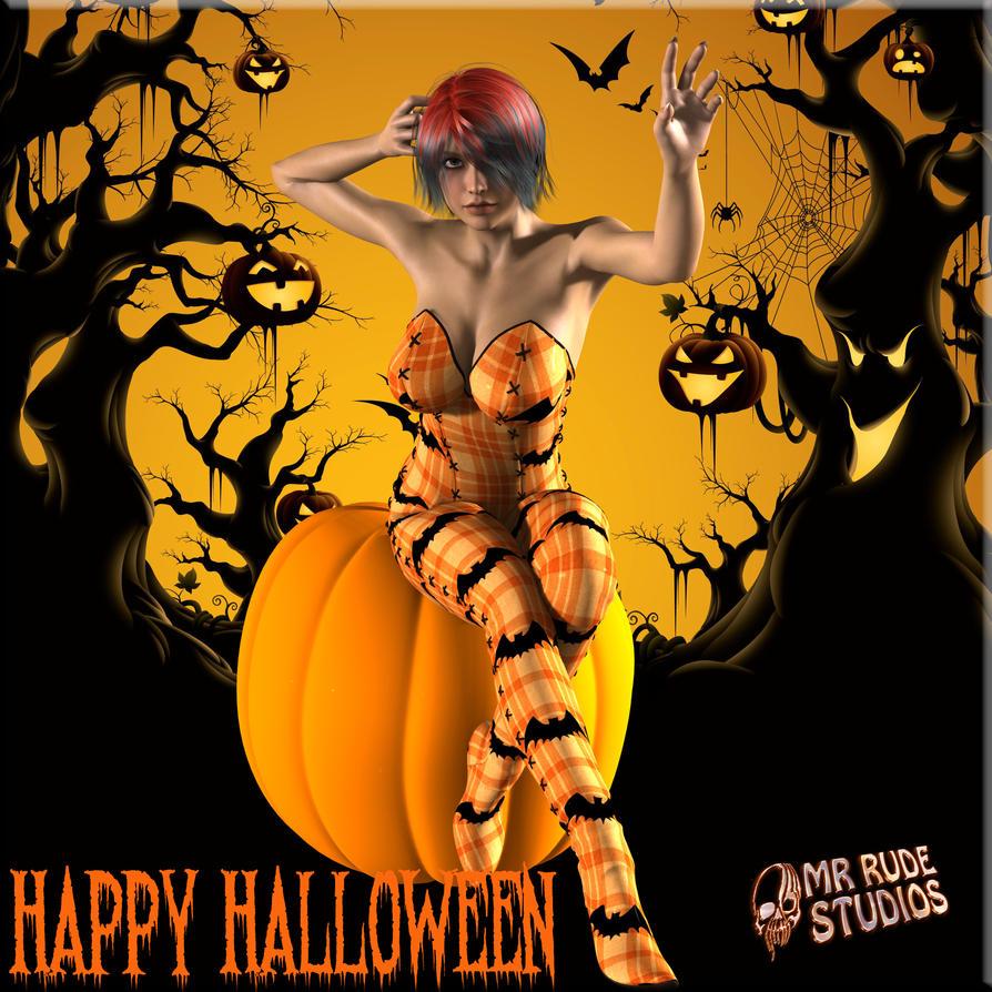 Happy Halloween by MrRudeStudios