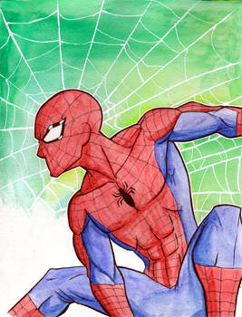 Spider-Man Watercolors.