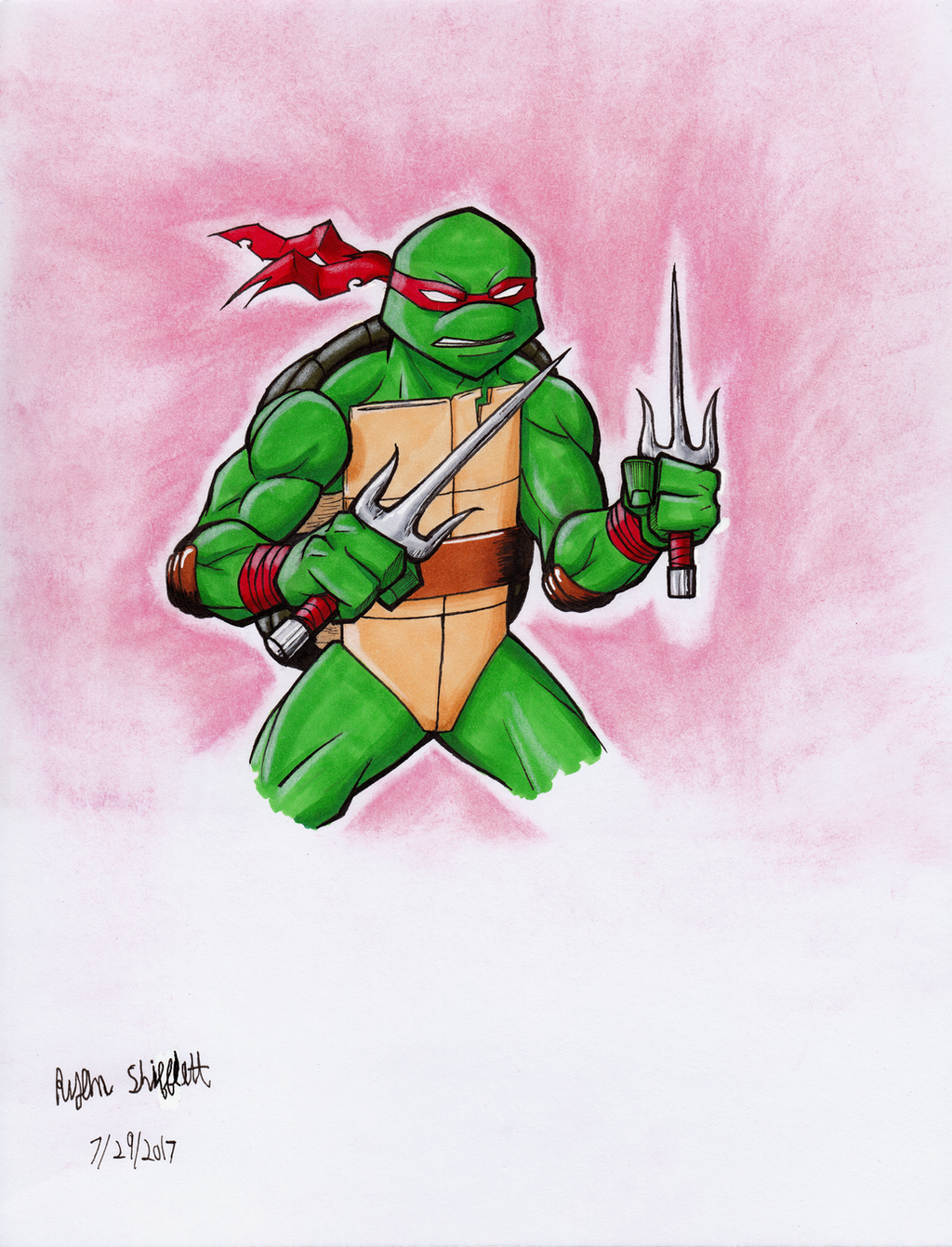 Teenage Mutant Ninja Turtles: Raphael by RyanShifflett on ...