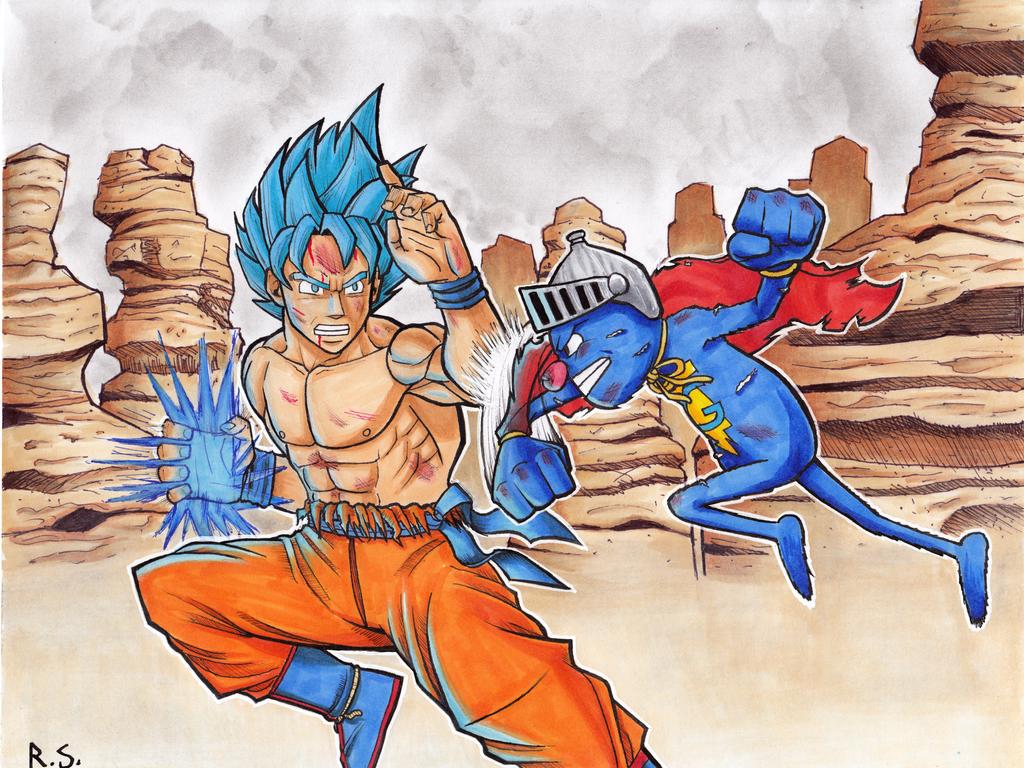 Goku Vs. Superma-Wait, What? by RyanShifflett