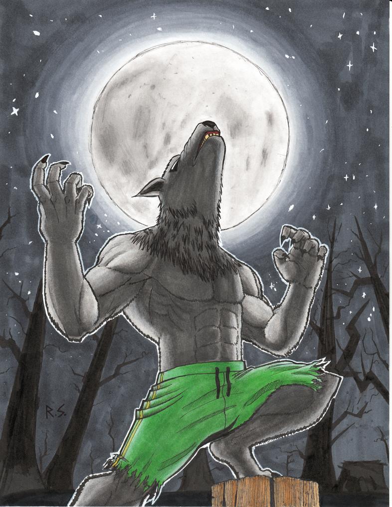 Werewolf. by RyanShifflett