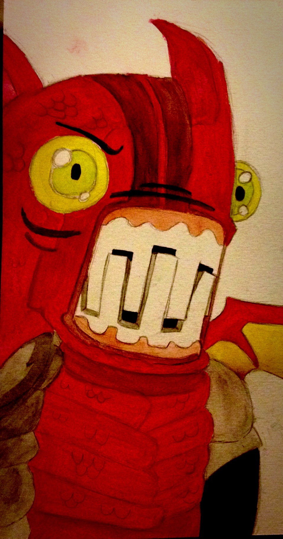 Castle crashers fire demon by rg418 on deviantart - Castle crashers anime ...