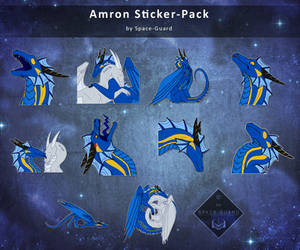 Amron Stickerpack by Space-Guard