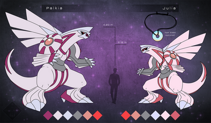 Palkia - Julia Referencesheet by Space-Guard