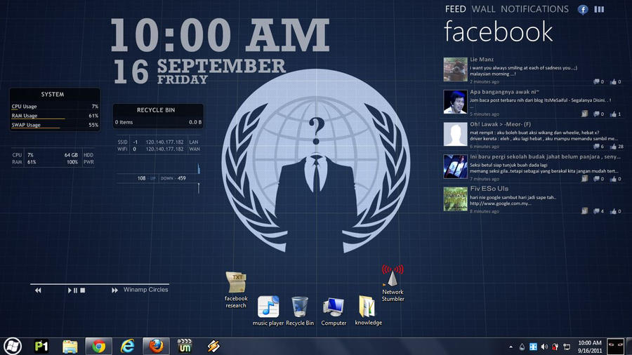 anonymous rainmeter by dream23232