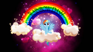 BG: Rainbows in the Sky by Vividkinz