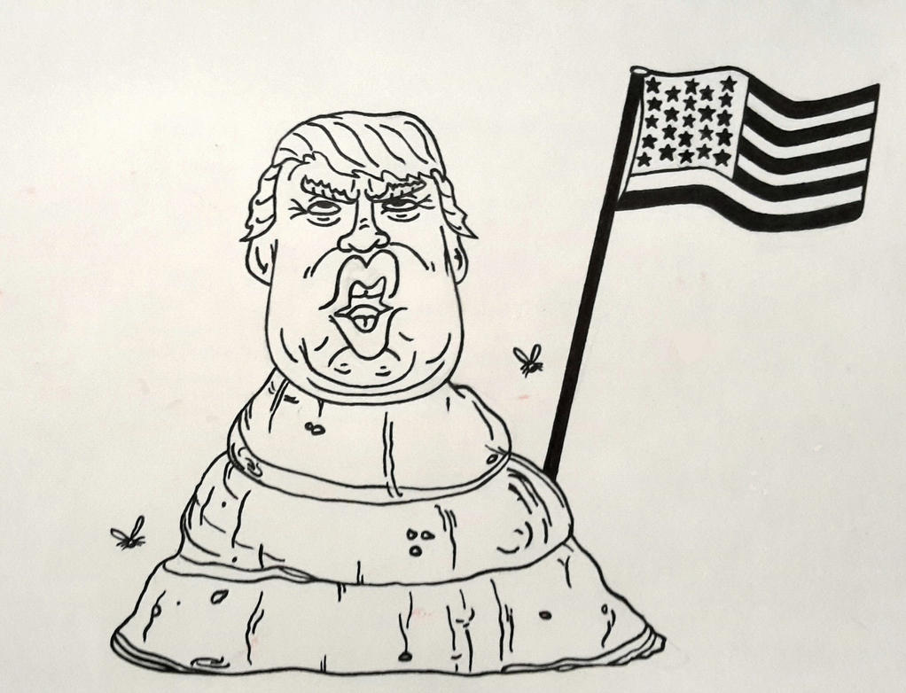 A Lump of Trump by DHopper71