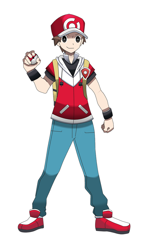 Pokemon Trainer Red Hgss | www.pixshark.com - Images ...
