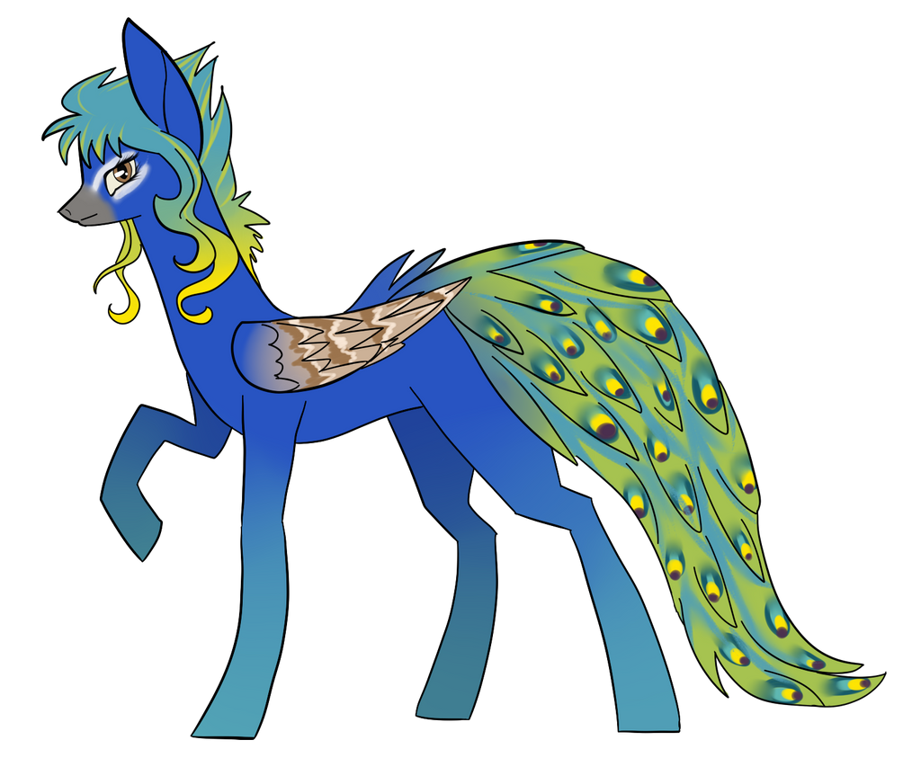 Peacock By Siinys-d8b73cx by Julunis14