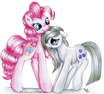 Gift - Pinkie and Marble Pies
