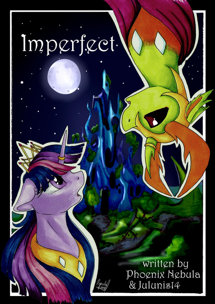 'Imperfect' Fanfiction Cover by Julunis14