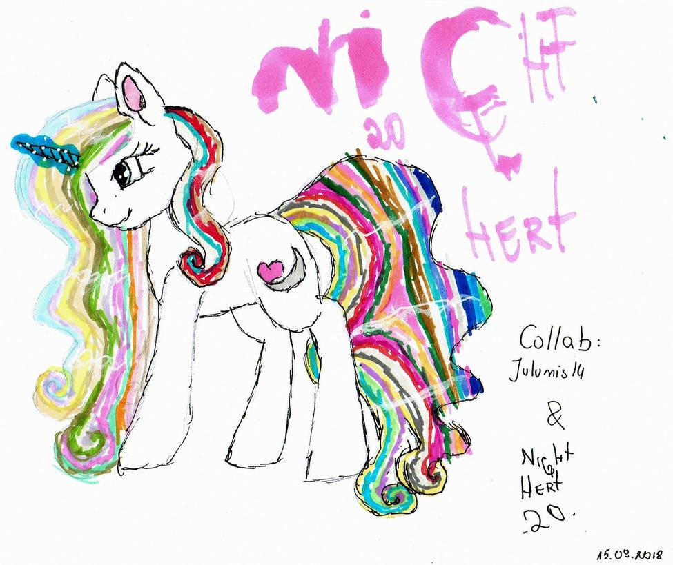 Collab - Night Hert (READ DESCRIPTION BOX) by Julunis14