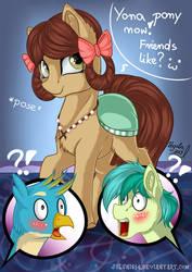 Yona pony now! Friends like? :3 by Julunis14