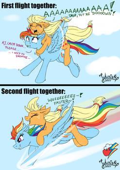 AppleDash Series - Flying Apple