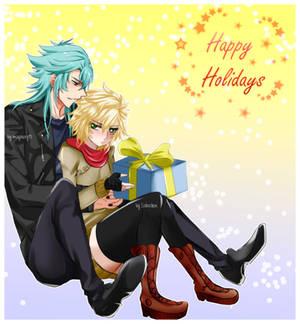 [Collab] Hayato x Aida- Happy Holidays