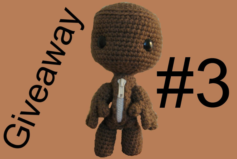 Sackboy Giveaway by Goldenjellybean