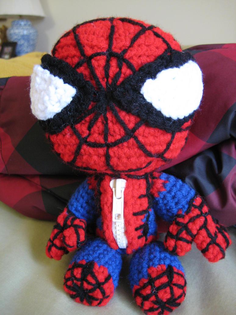 Spiderman Sackboy by Goldenjellybean