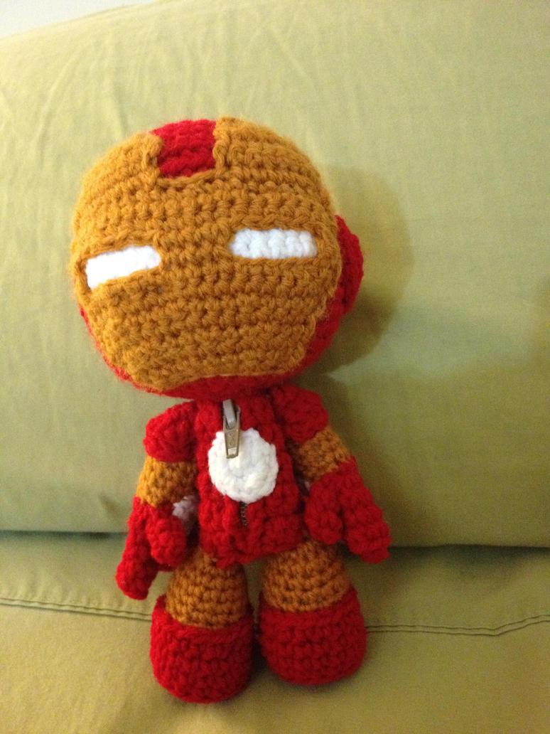 Iron Man Sackboy by Goldenjellybean
