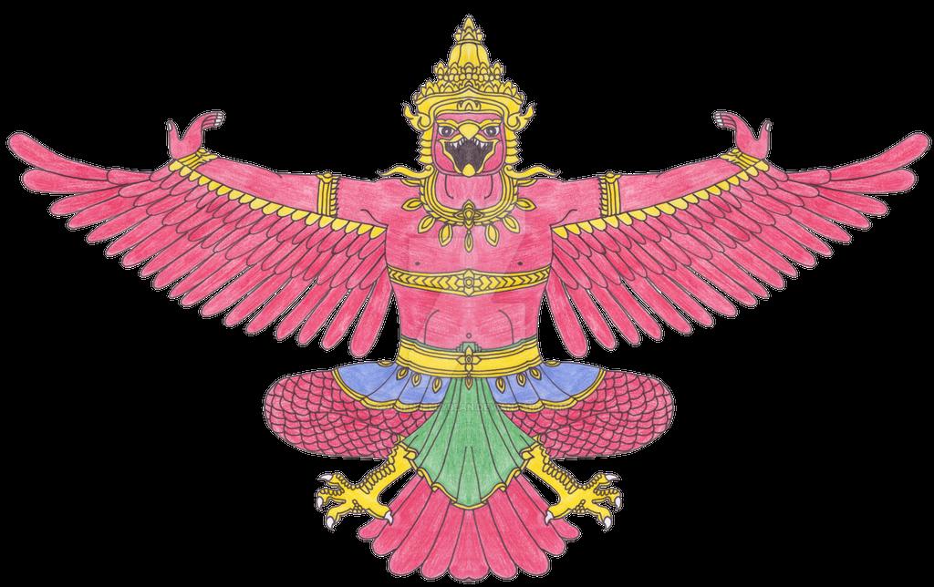 GarudaNepal by Goldenjellybean