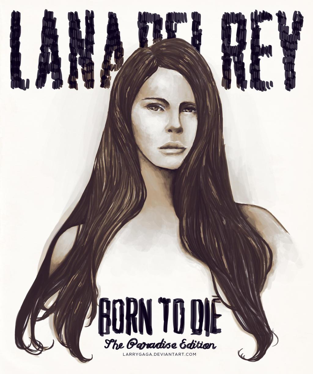 Lana Del Rey Paradise By Larrygaga On Deviantart