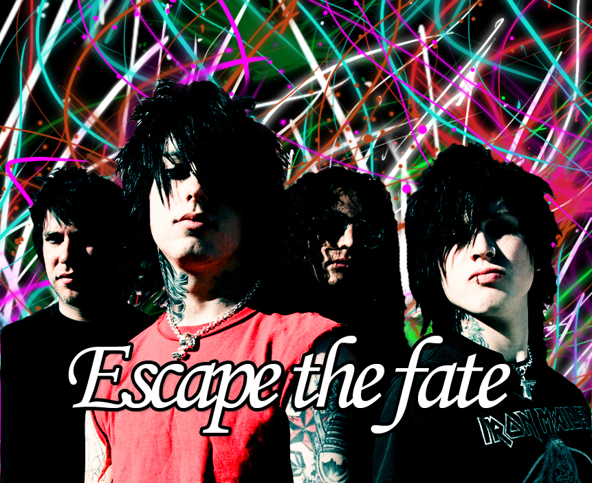 Escape The Fate Wallpaper by MCRROXXMYSOXX on DeviantArt